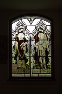 Window in North Aisle of St. Luke's Church. Courtesy of Wes Webster Photography