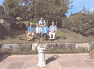 Councillors John Sambrook, Suzanne Sillitoe, Henry and Christina Jebb and Kevin Jackson